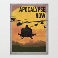 apocalypse now Canvas Prints featuring Apocalypse Now by Brian Wilcox