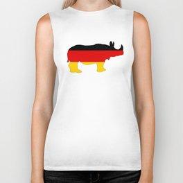 German Flag - Rhino Biker Tank