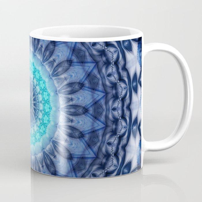 Mandala Iceblue 3 Coffee Mug