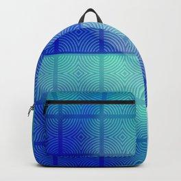 Blue shadows Backpack