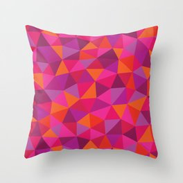 Prismatic Pattern Throw Pillow