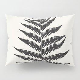 Minimal Fern Leaf Pillow Sham