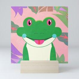 Jungle Frog Mini Art Print