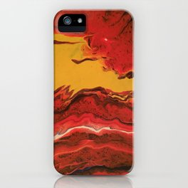 Hot, hot passion iPhone Case