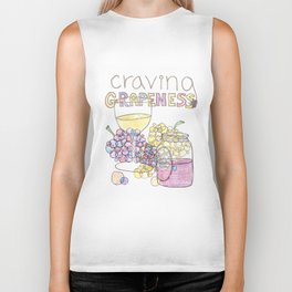 Craving Grapeness Biker Tank