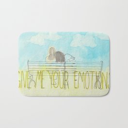 emotions Bath Mat