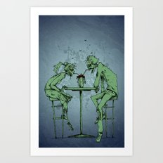 Date Night Art Print