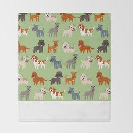 IRISH DOGS Throw Blanket
