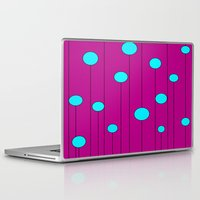 balloons Laptop & iPad Skins featuring Balloons  by JuniqueStudio