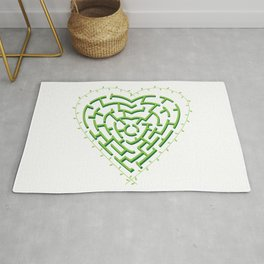 Lost in the Love Maze Rug