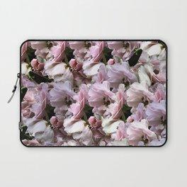 Pink Roses floral pattern Laptop Sleeve
