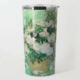 Roses, Vincent Van Gogh Travel Mug