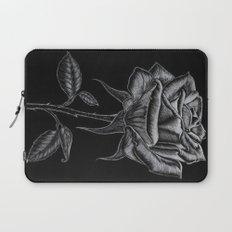 Silver Rose Laptop Sleeve