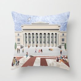 COLUMBIA UNIVERSITY Throw Pillow