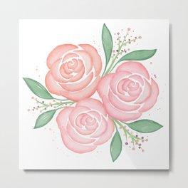 Roses in Spring Metal Print