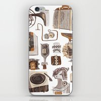 office iPhone & iPod Skins featuring Office by pam wishbow