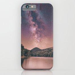 Milky Way Stars Night Sky iPhone Case
