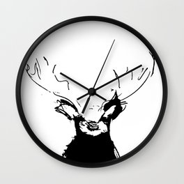 This Wild Creature Wall Clock