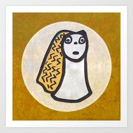 Tribal Idol #1 Art Print