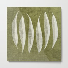 White Willow Metal Print