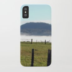 Morning Fog iPhone X Slim Case