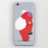 baymax iPhone & iPod Skins featuring Baymax by Raquel Segal