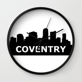 Coventry Skyline Wall Clock