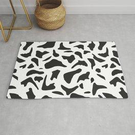 Cow print seamless pattern.Animal print  Rug