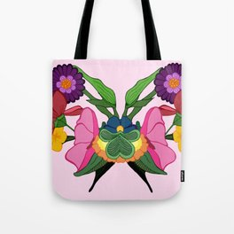 Rose-schach Tote Bag