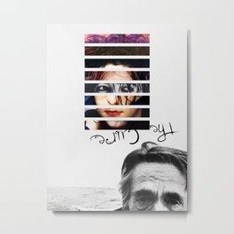 #TheCure Metal Print