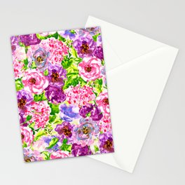 love lisianthus Stationery Cards