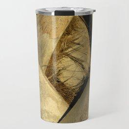 Palm Tree Bark Travel Mug