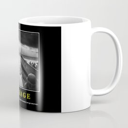 Courage -- D Day Print Coffee Mug