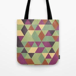 TRIANGLES geometric print Tote Bag