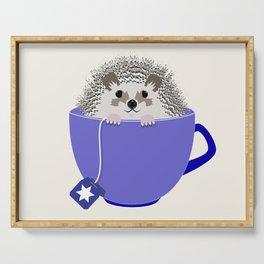 Kosher Chanukah Holiday Hedgehog Serving Tray