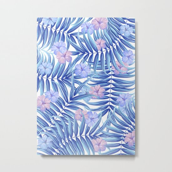 Hawaiian Pattern Metal Print