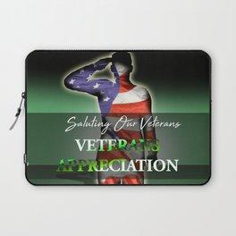 Veterans Appreciation Laptop Sleeve