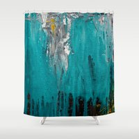inspiration Shower Curtains featuring Inspiration by mzscreations