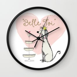 Belle Toi Wall Clock
