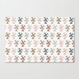 fans pattern Canvas Print