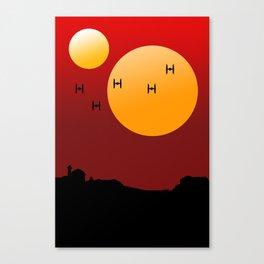Apocalypse Now Poster Parody Canvas Print