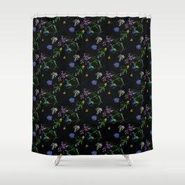 Mille-fleurs Shower Curtain