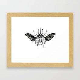 BeetleBrain Framed Art Print