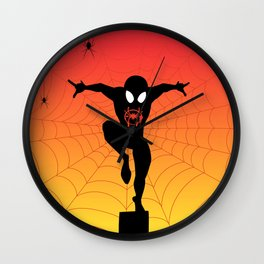 The Spider Kid Wall Clock