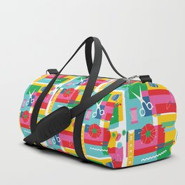 Craft Collage Duffle Bag