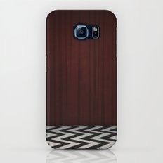 Black Lodge / Red Room Twin Peaks Galaxy S8 Slim Case