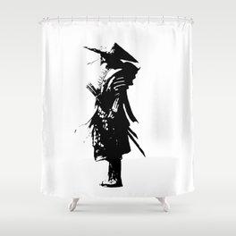 samurai jap Shower Curtain