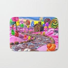Pink Candyland Bath Mat
