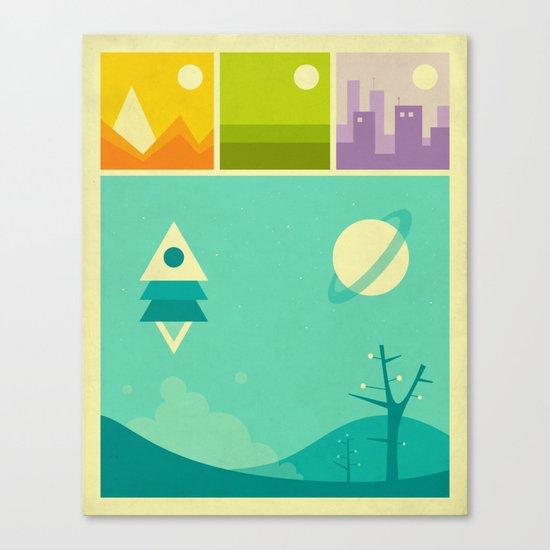 WORLDS OF WONDER Canvas Print