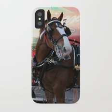 BUDWEISER Clydesdale Slim Case iPhone X